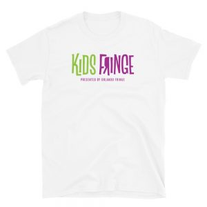 Kids Fringe Adult Unisex Tee - White