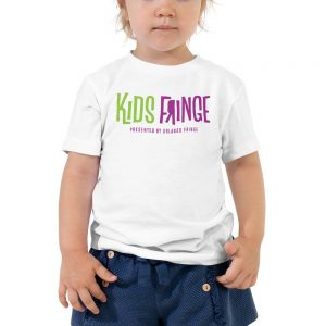 Kids Fringe Toddler Unisex Tee - White