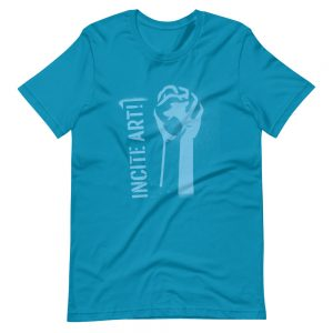 Incite Art Unisex Tee - Blue