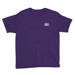 100% Bold Youth Tee - Purple