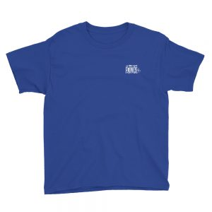 100% Bold Youth Tee - Blue