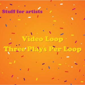 Video Loop Three Plays Per Loop